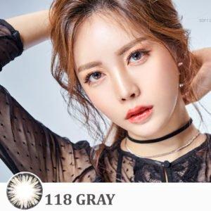 lens mat mau xam LU 118 Gray