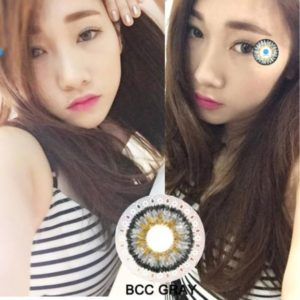 contact lens gray BCC Gray