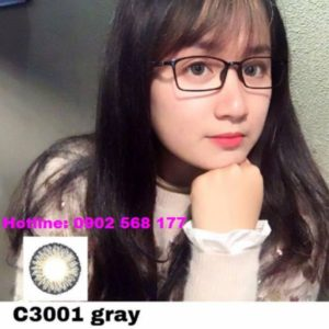 kinh ap trong mau xam C3001 Gray