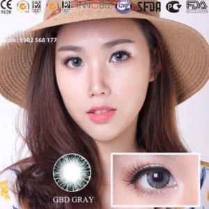 Contact lens mau xam GBD Gray