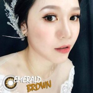 contact lens emeral brown