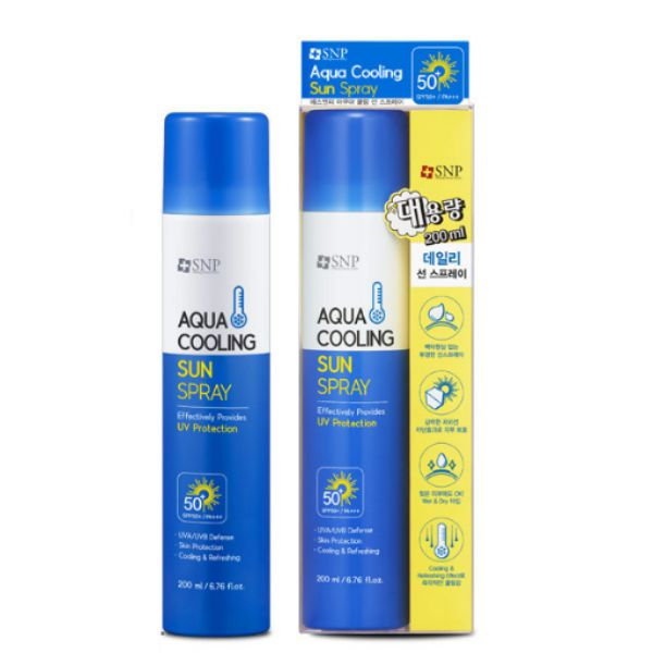 Aqua Cooling Sun Spray